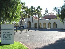 Scripps Ranch Library: Entrance