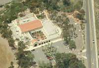 Scripps Miramar Ranch Library Center Birdseye View