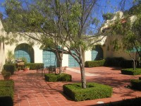 Courtyard of the Scripps Miramar Ranch Library Center