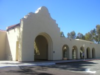 Main Entrance to the Scripps Miramar Ranch Library Center